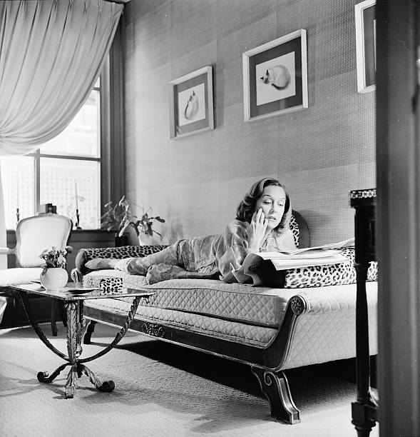 Gloria at home in NYC in 1960