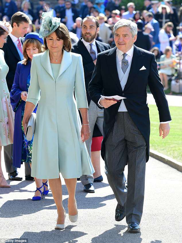 wedding Carole Middleton