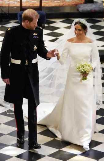 wedding Meghan dress