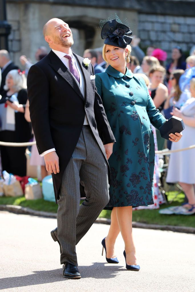 wedding Zara Tindall